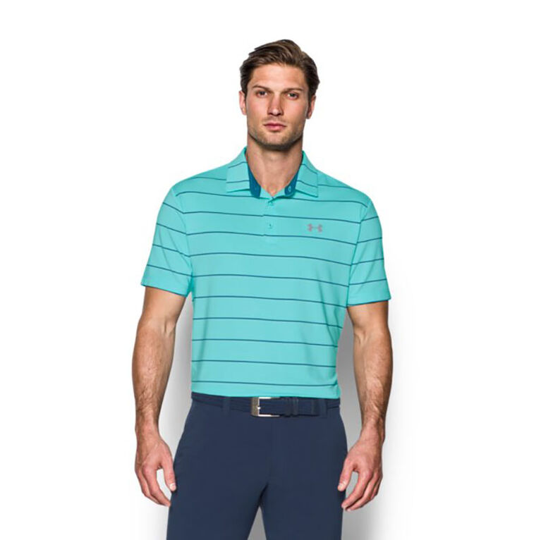 Under Armour Bold Stripe Playoff Polo