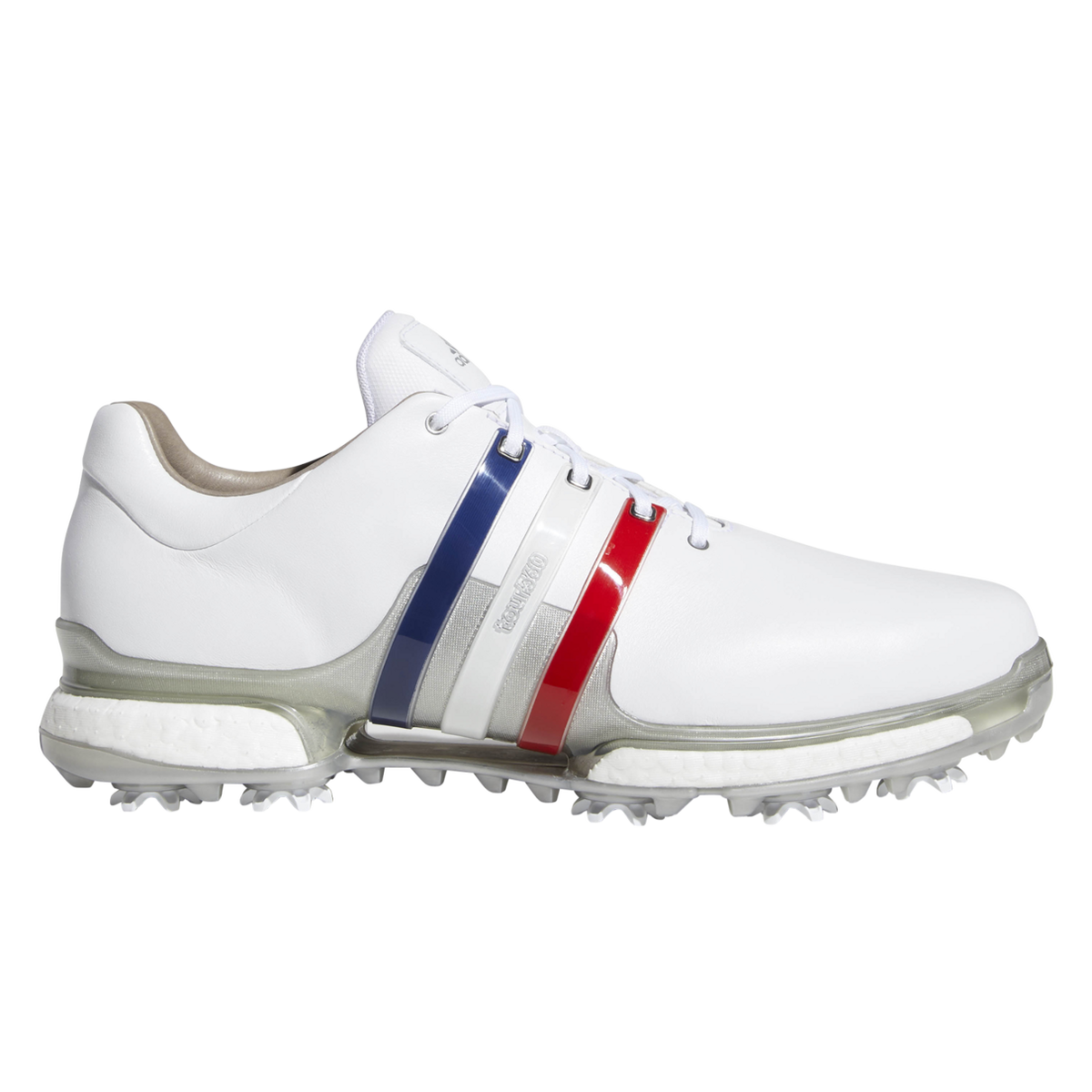 60af7869acc adidas TOUR 360 Boost 2.0 USA Men s Golf Shoes - Red White Blue ...