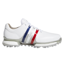 adidas TOUR 360 Boost 2.0 USA Men's Golf Shoes - Red/White/Blue