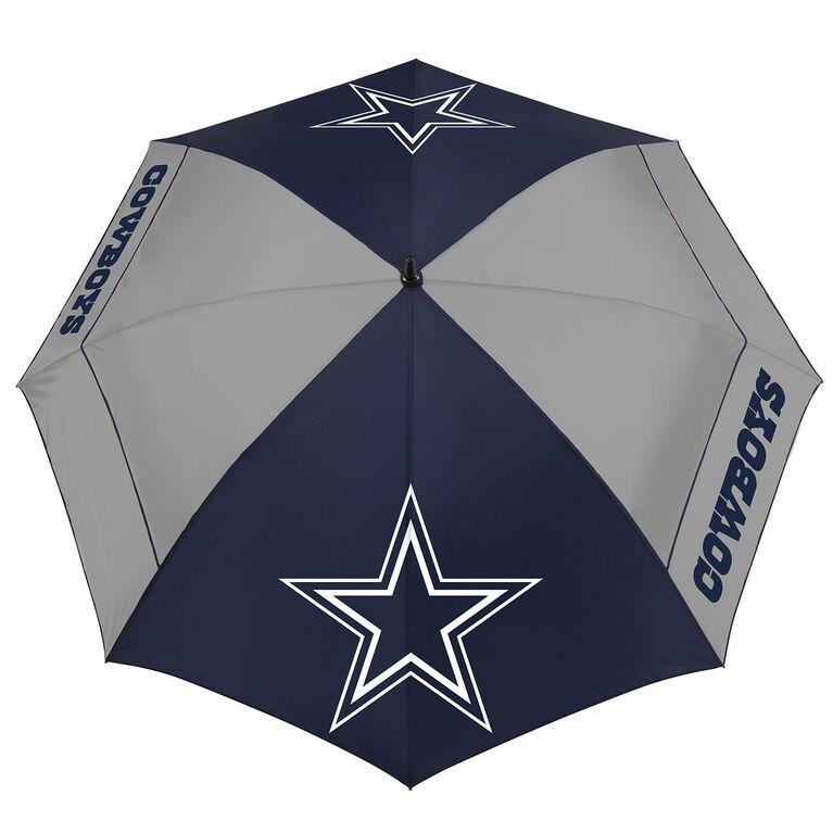 "Team Effort Dallas Cowboys 62"" WindSheer Lite Umbrella"