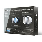 TaylorMade TP5X Golf Balls - Personalized