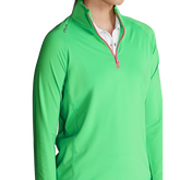 Alternate View 3 of Performance Long Sleeve Airflow Quarter-Zip Pull Over