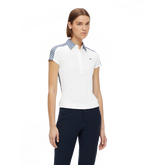 Alternate View 1 of Cara Short Sleeve Gingham Back Polo