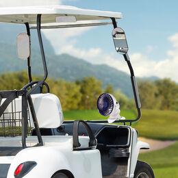 Portable Mini Golf Cart Fan