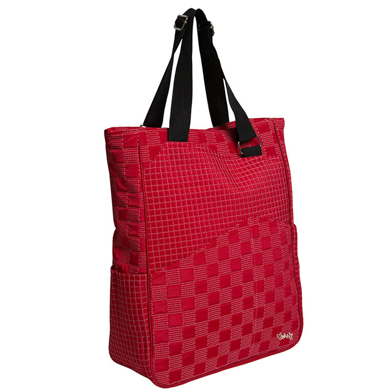Glove It Lady In Red Tennis Tote