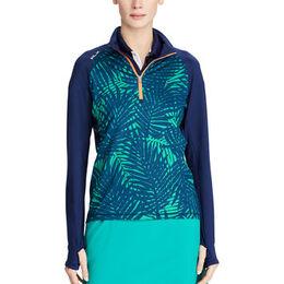 RLX Golf Palm-Print Half-Zip Pullover