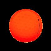Alternate View 2 of Supersoft Matte Orange Golf Balls - Personalized