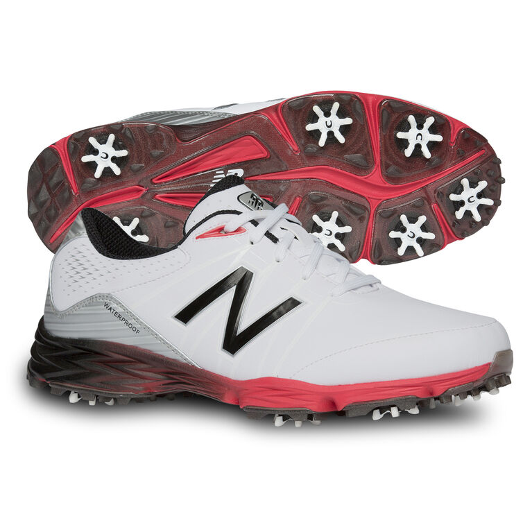 New Balance 2004 Men's Golf Shoe - White/Red