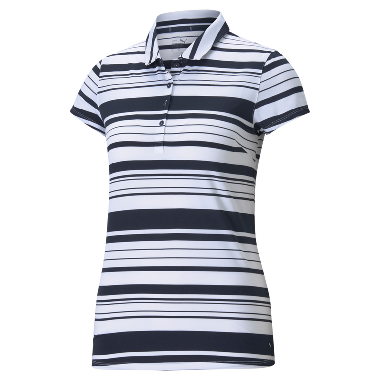 Cloudspun Short Sleeve Ribbon Stripe Polo