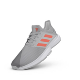 Alternate View 7 of Gamecourt Men's Tennis Shoes - Grey/Red