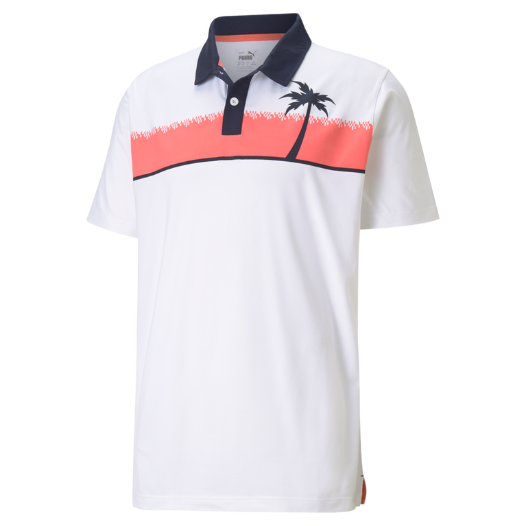 CLOUDSPUN Hana Chest Stripe Polo