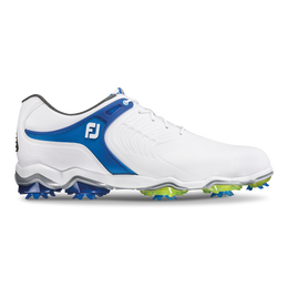 FootJoy Tour-S Men's Golf Shoe - White/Blue