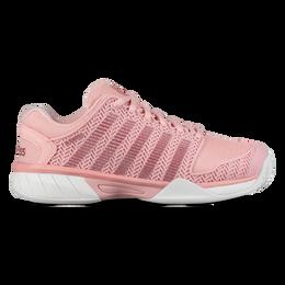Hypercourt Express Junior Tennis Shoe - Coral