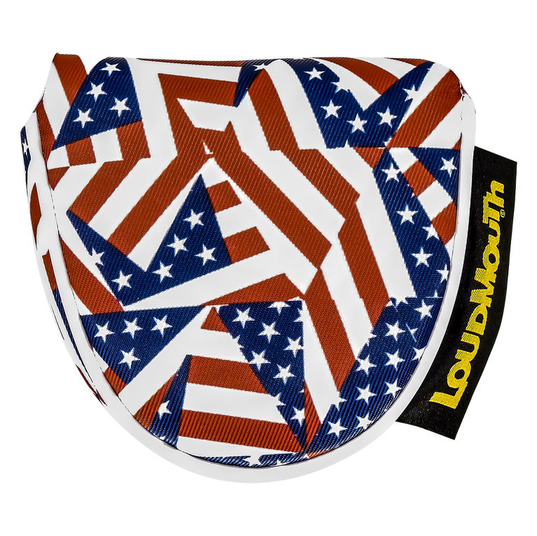Flagadelic Mallet Putter Cover