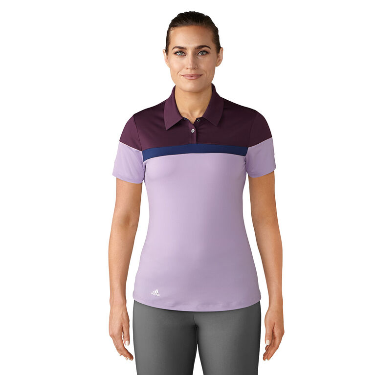 adidas Color Blocked Short Sleeve Polo