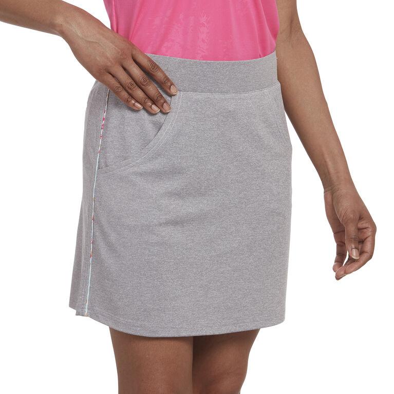 Pink Glo Group: Solid Heather Skort