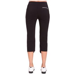 Blah Blah Blah Collection: Grommet Front Mid Capri Pants
