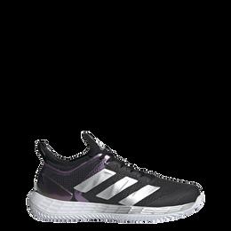 Adizero Ubersonic 4 Clay Women's Tennis Shoe - Black/White