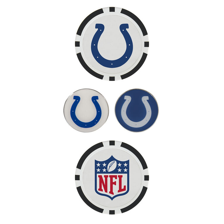 Team Effort Indianapolis Colts Ball Marker Set