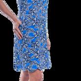 Alternate View 2 of Mystic Sleeveless Hibiscus Print Scallop Dress