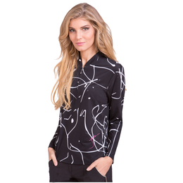 Sunsense Squiggles Long Sleeve Quarter Zip