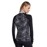 Haven Etched Floral Print Reversible Jacket