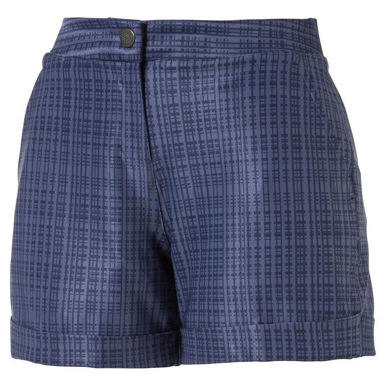 Puma Women's Soft Plaid Short Golf Short
