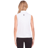Alternate View 1 of Apollo Collection: Sleeveless Shoulder Detailed Top
