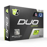 Alternate View 2 of DUO Optix NFL Golf Balls - Indianapolis Colts
