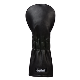 Black Leather Driver Headcover