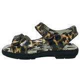 Alternate View 5 of Two Strap Women's Spikeless Golf Sandal - Leopard
