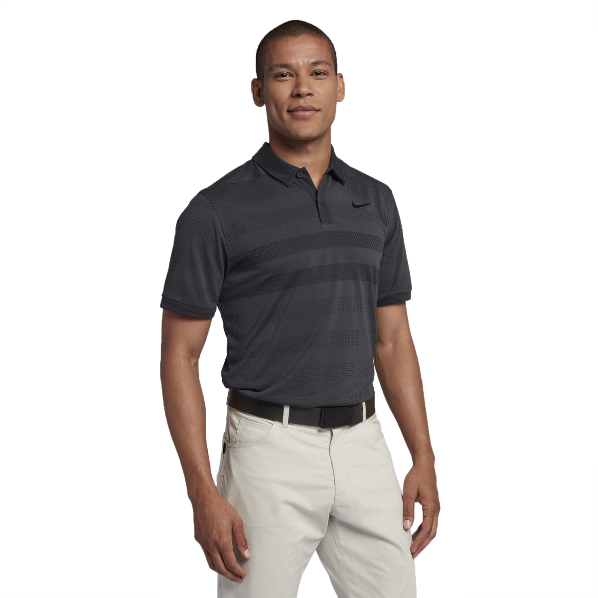665106d619 Nike Zonal Cooling Striped Golf Polo | PGA TOUR Superstore
