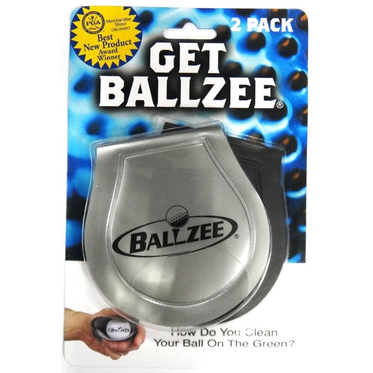 Ballzee Golf Ball Cleaner - 2-Pack