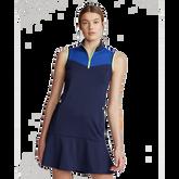Sleeveless Colorblock Golf Dress