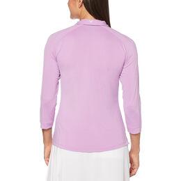 Lilac Collection: Shadow Stripe Golf Polo Shirt
