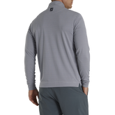 Alternate View 1 of Houndstooth Jacquard Quarter-Zip Pullover