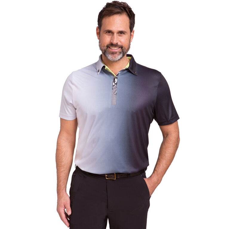 Short Sleeve Gradient Polo