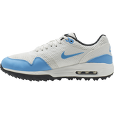 Alternate View 3 of Air Max 1 G Men's Golf Shoe - White/Carolina Blue