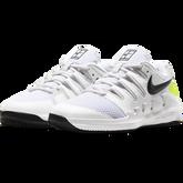 Alternate View 6 of NikeCourt Jr. Vapor X Kids' Tennis Shoe - White/Yellow