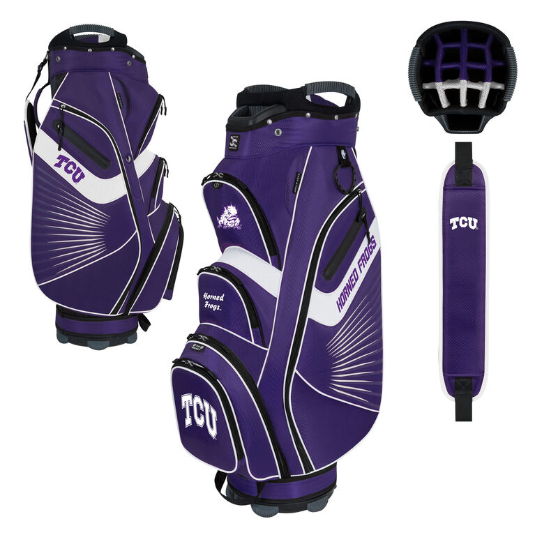 Team Effort TCU Bucket II Cart Bag