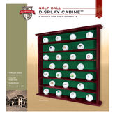 Golf Gifts & Gallery Golf Ball Display Cabinet package