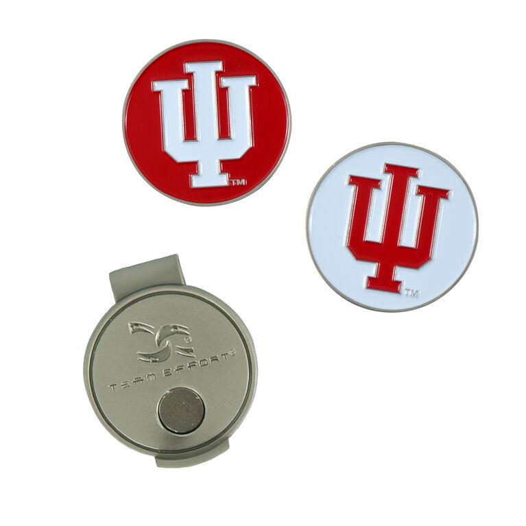 Team Effort Indiana HoosiersHat Clip