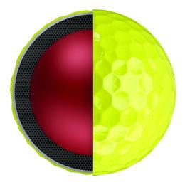 Callaway Chrome Soft Yellow Golf Balls - Personalized