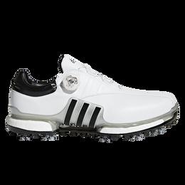 adidas TOUR 360 EQT Boa Men's Golf Shoe - White/Black