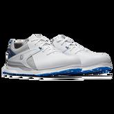 Alternate View 3 of PRO|SL Men's Golf Shoe - White/Blue