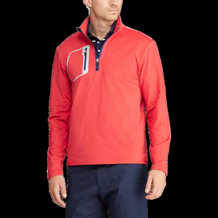 Stretch Half-Zip Pullover