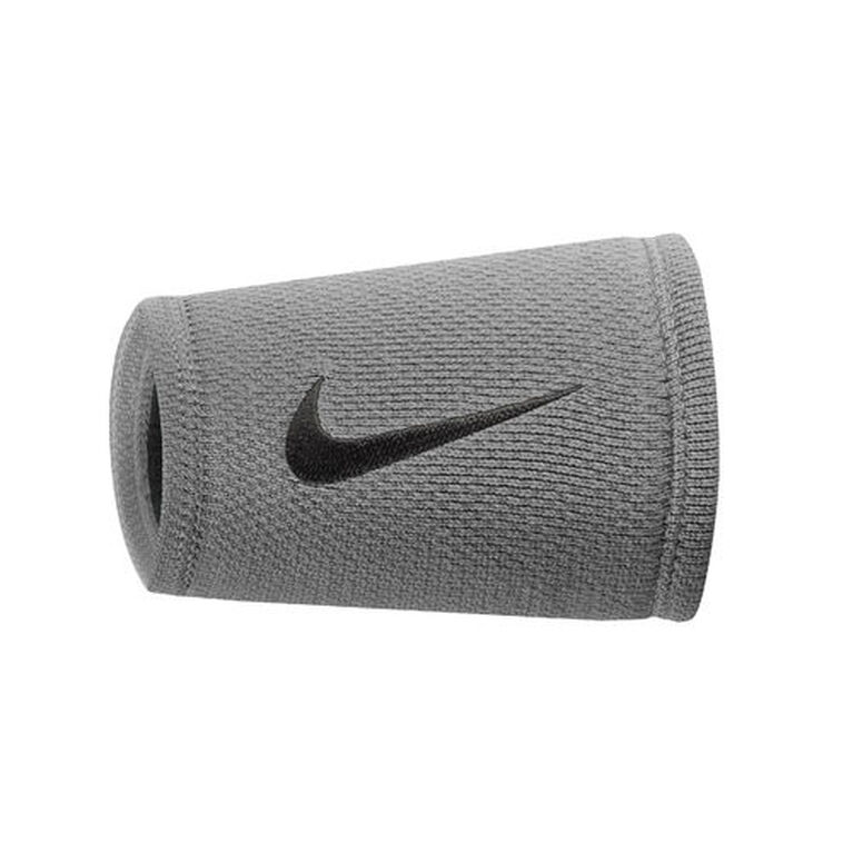 Nike Dri-FIT Stealth Double Wristbands - Grey/Black