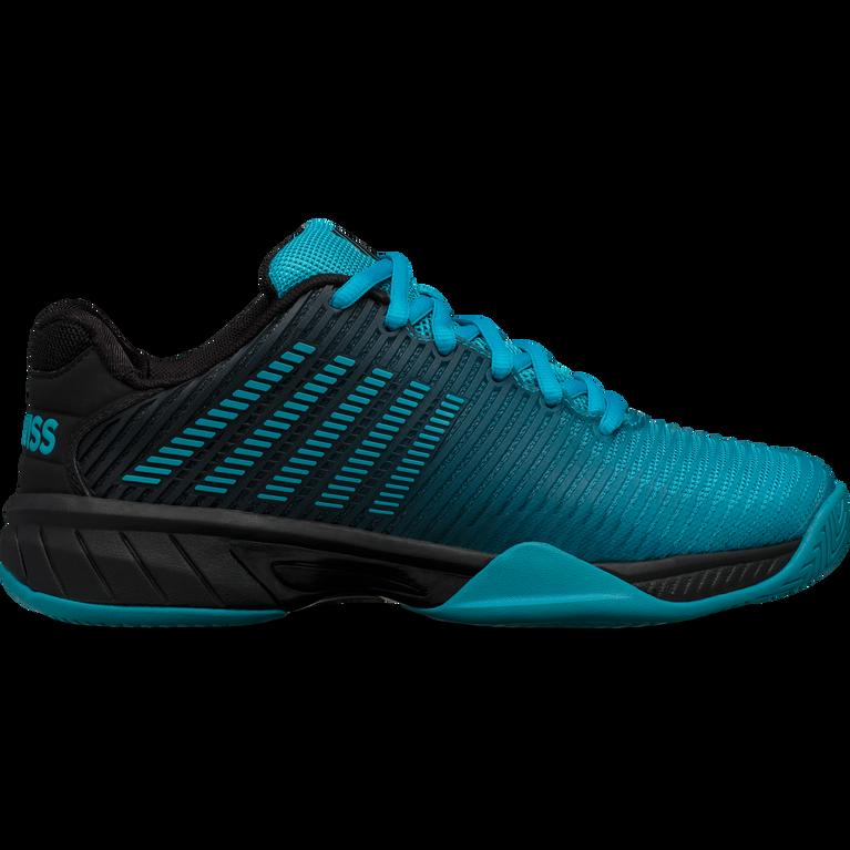 Hypercourt Express 2 Junior Tennis Shoe - Blue/Black