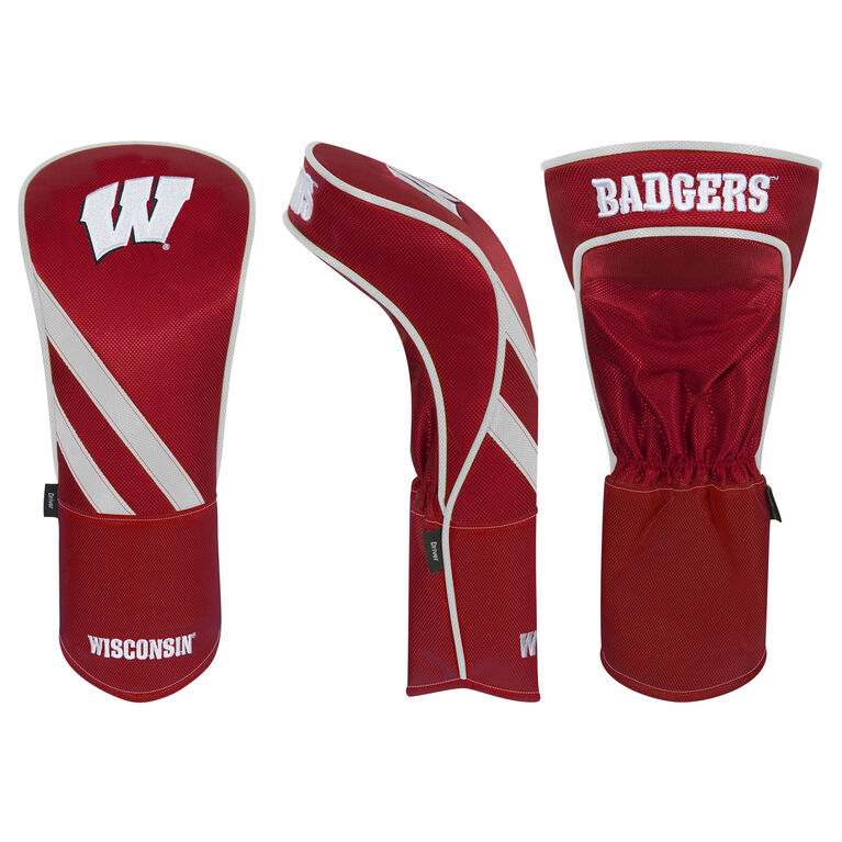 Team Effort Wisconsin Badgers Driver Headcover