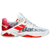Babolat Propulse Fury All Court Men's Tennis Shoe - White/Red
